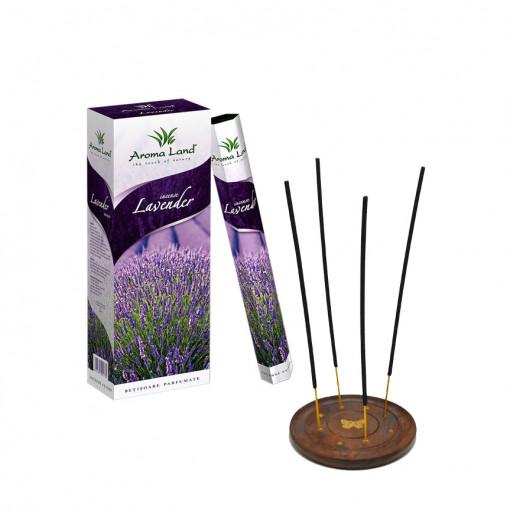 Set 6 cutii betisoare parfumate Lavanda + Suport