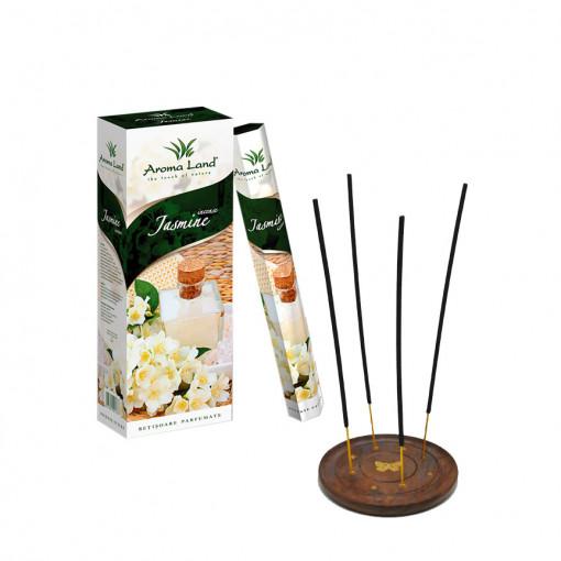 Pachet 120 betisoare parfumate Iasomie + suport lemn