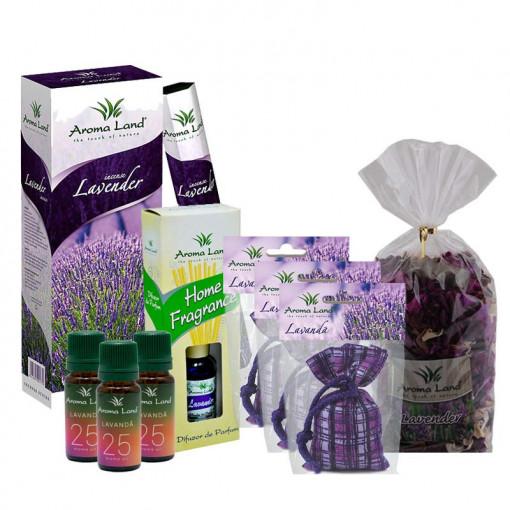 Pachet aromaterapie Lavanda, Aroma Land, 9 buc