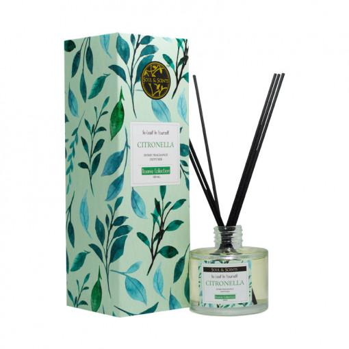 Reed diffuser Citronella, S&S India, 125 ml