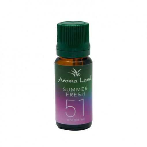Ulei aromaterapie Summer Fresh, Aroma Land, 10 ml