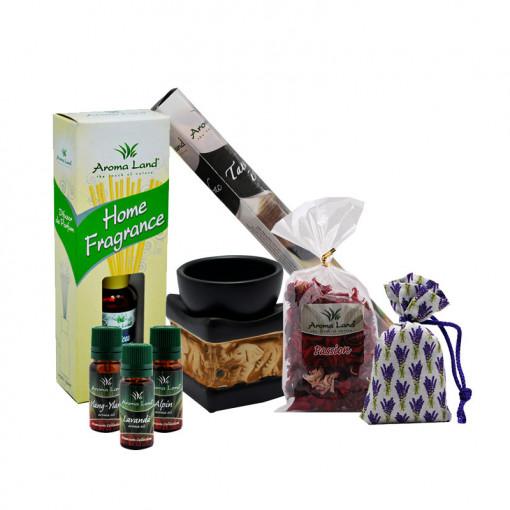 Pachet aroma Aromatherapy Starter, Aroma Land