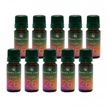 Pachet 20 uleiuri aromaterapie parfumate Liliac, Aroma Land, 10 ml