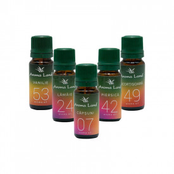 Pachet 5 uleiuri aromaterapie Desert Delight, Aroma Land, 10 ml