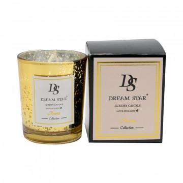 Lumanare decorativa cu parfum de vanilie, 18 ore