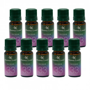 Pachet 10 uleiuri aromaterapie Ocean, Aroma Land, 10 ml