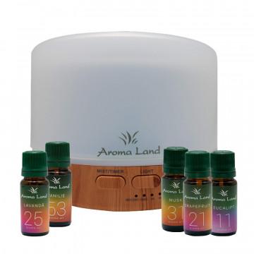 Pachet Aroma Difuzor Oslo + 5 uleiuri volatile