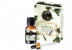 Ulei Esential Neroli, S&S India, 100% Natural, 10 ml