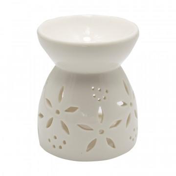 Difuzor ceramic alb de uleiuri parfumate