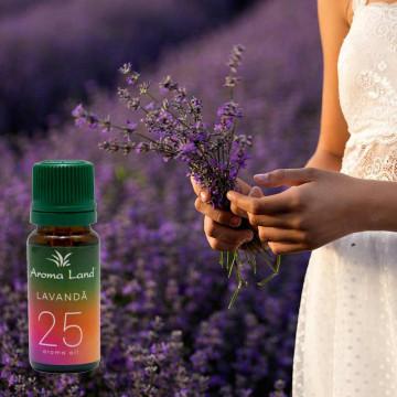 Pachet 10 uleiuri aromaterapie Lavanda, Aroma Land, 10 ml