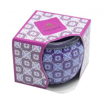 Lumanare parfumata in cutie, Lavanda, 20h