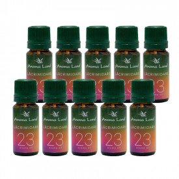 Pachet 10 uleiuri aromaterapie Lacramioare, Aroma Land, 10 ml