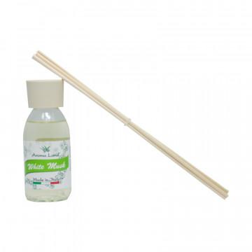 Pachet 5 Reed Diffuser White Musk, Aroma Land, 125 ml