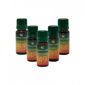 Set 5 uleiuri aromaterapie Oriental Mix, Aroma Land, 10 ml