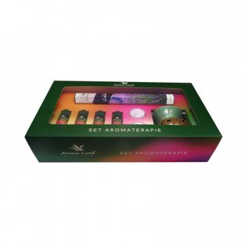 Pachet uleiuri aromaterapie si betisoare parfumate lavanda Aroma Land