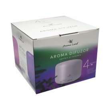 Aroma Difuzor Relax, Aroma Land, 500 ml, 16W