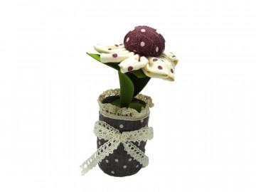 Floare textil parfumată cu carbune activ bambus, Aroma Land, Odorizare & Decor