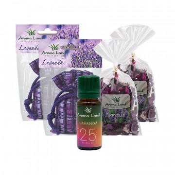 Pachet Lavender Home, Aroma Land, Relaxare & Odorizare
