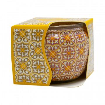 Lumanare parfumata in cutie, Vanilie, 20h, Aroma Land