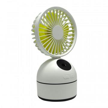 Difuzor Aromaterapie Windy cu ventilator si acumulator, 200 ml, 8W