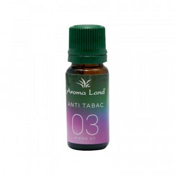 Pachet 10 uleiuri aromaterapie Anti Tabac, Aroma Land, 10 ml