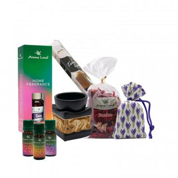 Pachet Aromatherapy Starter, Aroma Land, pentru relaxare si meditatie