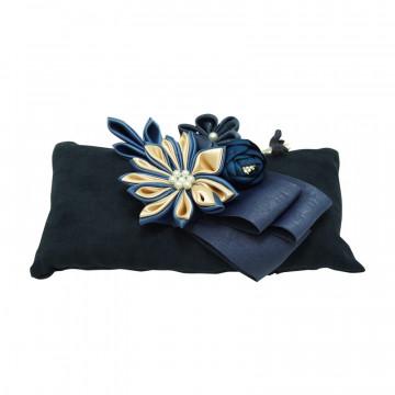 Pernuta textila cu carbune activ bambus, 6 culori