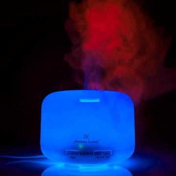 Difuzor ultrasonic Relax. Purifica aerul, parfumeaza si lumineaza