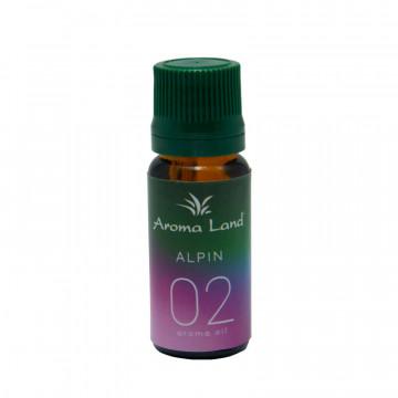 Ulei aromaterapie parfumat Alpin, Aroma Land, 10 ml