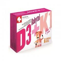 BABY D3+K1 twist off kapsule