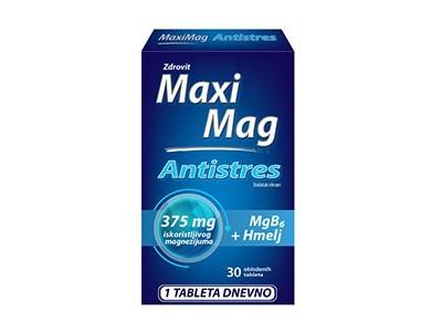 MAXIMAG ANTISTRES tablete