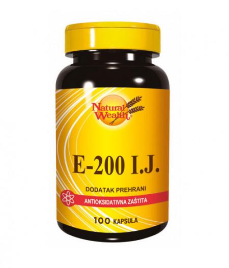Natural Wealth E-200 100 gel kapsula