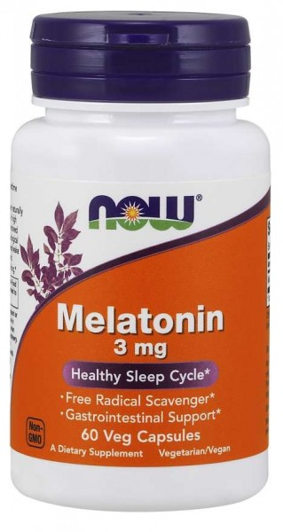NOW MELATONIN 3MG