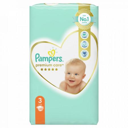 PAMPERS 3 PREMIUM CARE 5-9KG 60KOM