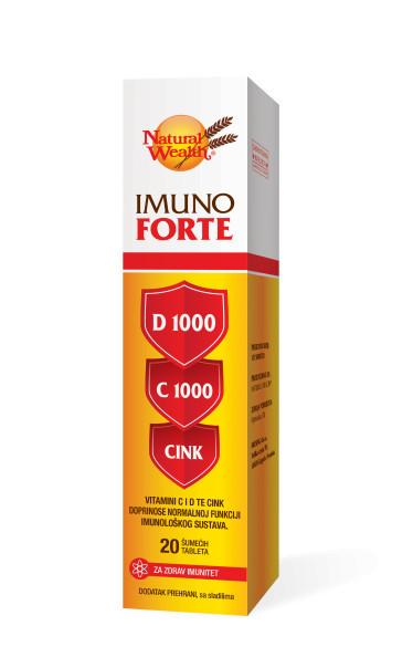 Imuno Forte D 1000 C 1000 cink