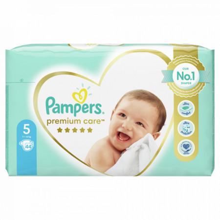 PAMPERS 5 PREMIUM CARE 11-18KG 44KOM