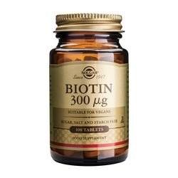 SOLGAR Biotin 300 µg  100 tableta