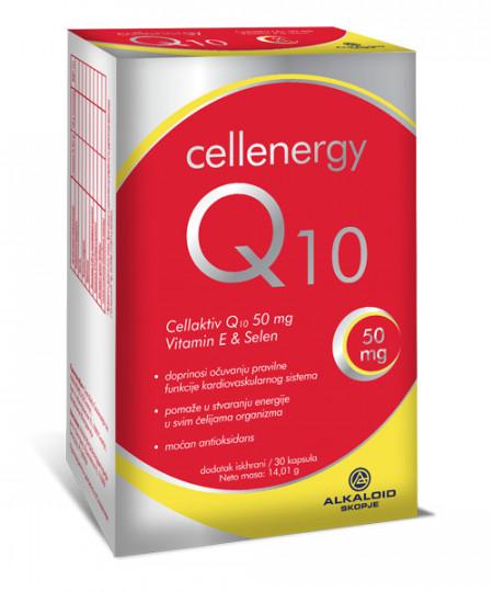 CELLENERGY Q10 50MG