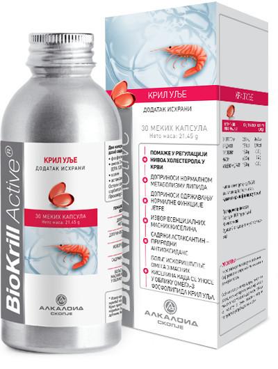 BIOKRILL ACTIVE 30 KAPSULA
