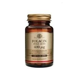 SOLGAR Folacin 400 µg 100 tableta