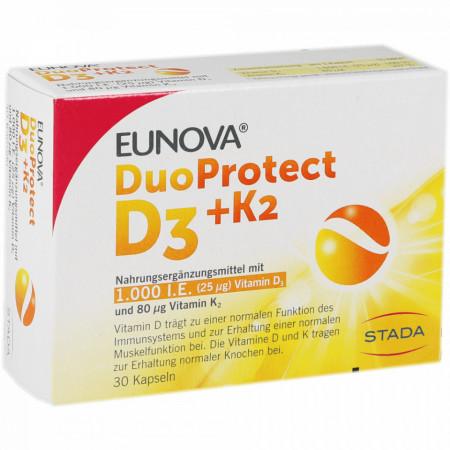 EUNOVA DUO PROTECT D3 + K2