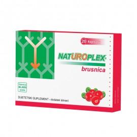 NATUROPLEX BRUSNICA 20 kapsula