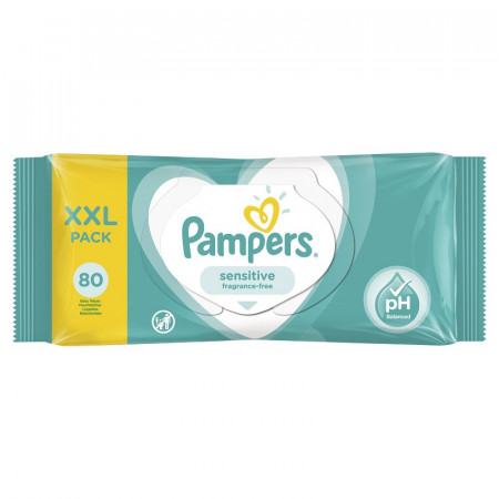 PAMPERS MARAMICE SENSITIVE XXL 80 KOMADA