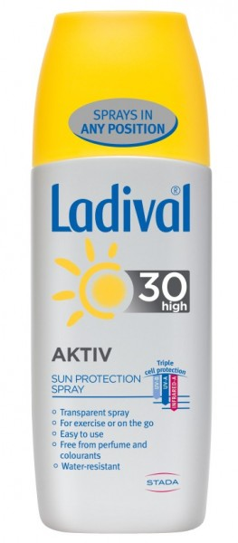 LADIVAL SPORT & AKTIV SPREJ SPF30