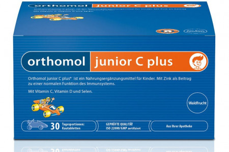 ORTHOMOL JUNIOR PLUS C 30 PAKETIĆA