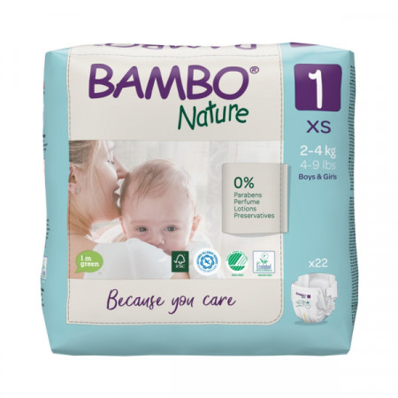 PELENE BAMBO 1 2-4kg 22kom