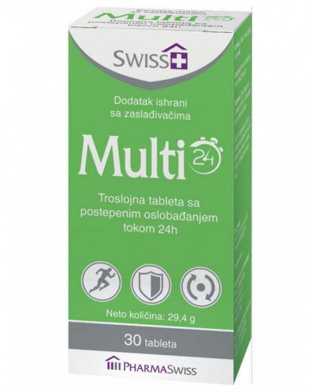 SWISS+ MULTI 24, troslojne tablete sa postepenim oslobađanjem