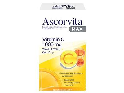 ASCORVITA MAX 30 tableta