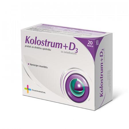KOLOSTRUM SA VITAMINOM D3 20 KESICA