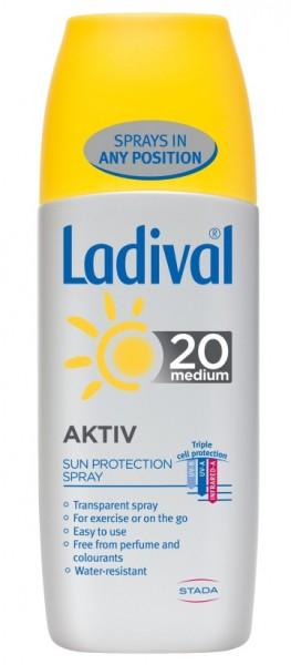 LADIVAL SPORT & AKTIV SPREJ SPF20